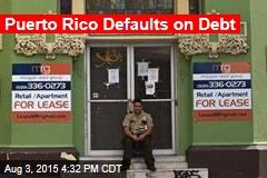 Puerto Rico Defaults on Debt