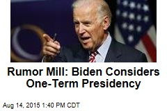 Rumors About Biden And, Yes, Gore Liven Up Race