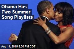Obama Has a Summer Music List, Too