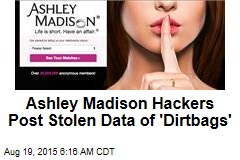 Ashley Madison Hackers Post Stolen Data
