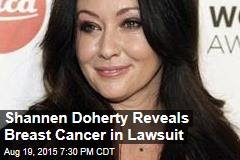 Shannen Doherty Reveals Breast Cancer in Lawsuit