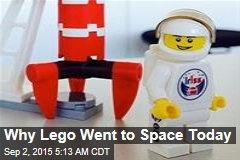 First Dane in Space Is Bringing Lego