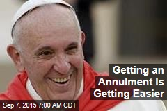 Getting an Annulment Is Getting Easier