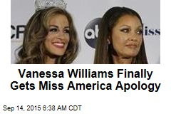 Here It Is, Vanessa Williams' Miss America Apology
