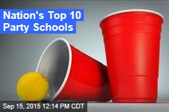 Nation's Top 10 Party Schools