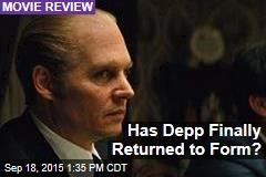 Has Depp Finally Returned to Form?