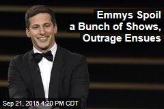 Emmys Spoil a Bunch of Shows, Outrage Ensues