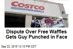 Dispute Over Free Waffles Gets Guy Punched in Face