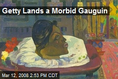 Getty Lands a Morbid Gauguin
