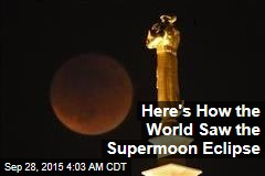 Supermoon Eclipse Wows World