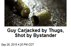 Bystander Trying to Help Shoots Victim in Head