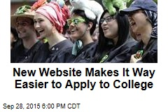 New Website Makes It Way Easier to Apply to College
