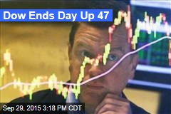 Dow Ends Day Up 47
