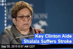 Key Clinton Aide Shalala Suffers Stroke