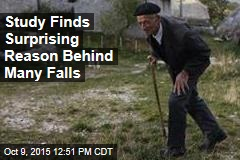 Study Finds Surprising Reason Why Elderly May Fall