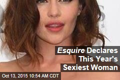 Esquire Declares This Year's Sexiest Woman