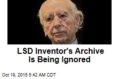 LSD Inventor's Archive Is Being Ignored