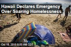 Homelessness Now an Emergency in Hawaii