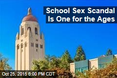 School Sex Scandal Is One for the Ages