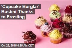 'Cupcake Burglar' Busted, Drunk and Covered in Icing