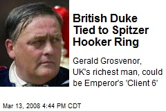 British Duke Tied to Spitzer Hooker Ring