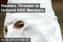 Hackers Threaten to Unhood KKK Members