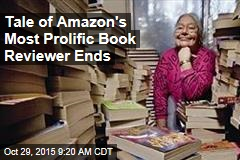 Tale of Amazon's Most Prolific Book Reviewer Ends
