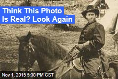 Historic Civil War Pic Actually 'Photoshopped'