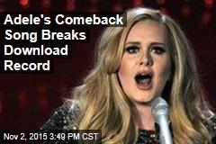 Adele's 'Hello' Breaks the Internet