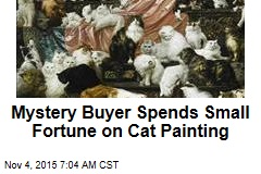 Someone Dropped $1M on World's Largest Cat Painting