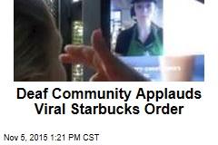 Deaf Community Applauds Viral Starbucks Order