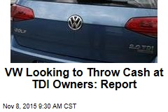 VW Looking to Throw Cash at TDI Owners: Report
