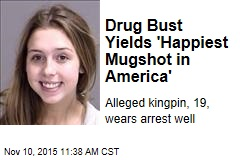 Drug Bust Yields 'Happiest Mugshot in America'