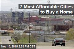 7 Most Affordable Cities to Buy a Home