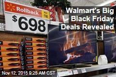 Walmart's Big Black Friday Deals Revealed