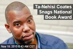 Ta-Nehisi Coates Snags National Book Award