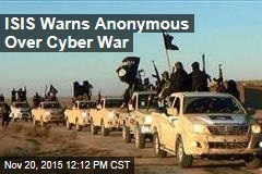 ISIS Warns Anonymous Over Cyber War