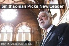Smithsonian Picks New Leader