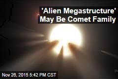 'Alien Megastructure' May Be Comet Family