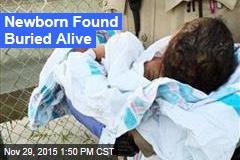 Newborn Found Buried Alive