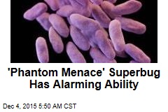 'Phantom Menace' Superbug Has Alarming Ability