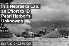 In a Nebraska Lab, an Effort to ID Pearl Harbor's Unknowns