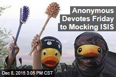 Anonymous Devotes Friday to Mocking ISIS