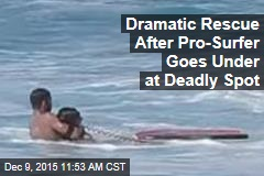 Pro Surfer's Life-Saving Rescue Caught on Video