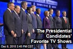 The Presidential Candidates' Favorite TV Shows