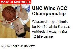 UNC Wins ACC Championship
