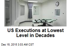 US Executions at Lowest Level in Decades