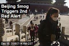 Beijing Smog Triggers 2nd Red Alert