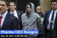 Pharma CEO Resigns