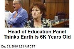 Creationist Leads State Senate Education Panel